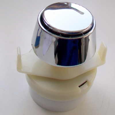 Dudley Pneumatic Cone Single Flush Push Button - 08001040